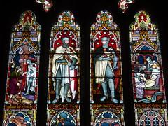 Knights Templar & Hospitaller, Temple Grafton (Aidan McRae Thomson) Tags: church window victorian stainedglass warwickshire frederickpreedy templegrafton