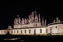 Chambord (Loir-et-Cher) (sybarite48) Tags: france castle night noche nacht castelo noite chambord nuit castello chteau kale  notte castillo burg noc kasteel gece loiretcher   zamek