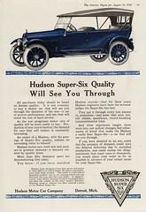 1918 Hudson Super-Six Four-Passenger Phaeton (aldenjewell) Tags: four ad super hudson passenger six 1918 phaeton