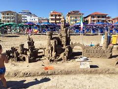 castelli di sabbia (dany&togo) Tags: mare spiaggia castelli sabbia iphone bellaria iphone5s