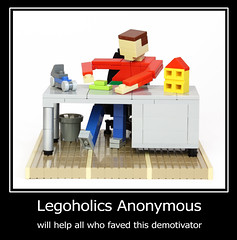 Legoholics Anonymous (vir-a-cocha) Tags: fun lego joke anonymous demotivator viracocha legoholics