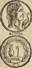 """Image from page 78 of """"Ritratto di Roma antica : nel qvale sono figvrati i principali tempij, theatri, anfiteatri, cerchi, naumachie, archi trionfali, curie, basiliche, colonne, ordine del trionfo, dignita militari, e ciuili, riti cerimonie, & altre cose"""