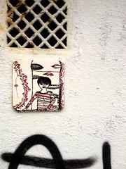 streetartbergen332 (motveggen) Tags: streetart pasteup wheatpaste mann bergen gatekunst idz streetartbergen motveggen