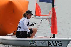 Nanjing 2014 - 19 Aug - Race Day 2-16 (ISAF Media Library) Tags: sailing australia competition olympic aus nanjing ainsworth elyse bcii bytecii nanjing2014 girlsbyte ausea3 ausea3elyseainsworth