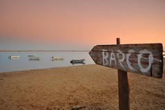 Barco (jorgefernandes14) Tags: pordosol praia barco algarve formosa ria riaformosa finaldetarde