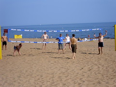 Beach Volleyball (shirtlesssteve2) Tags: shirtless men beach boys guys volleyball