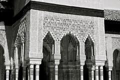 Nasrid Palaces (Filippo GZN) Tags: de los europe palace patio alhambra moorish arabian leones nasrid 1492 moriscos