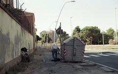 * (Antonin Cosset) Tags: street film analog 35mm canon 50mm sardinia ae1 14 200 vista 24 analogue 135 agfa cagliari argentique fd sardaigne calamosca ae1program 24x36