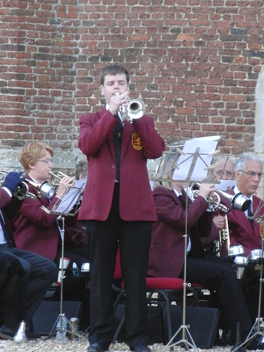 Tattershall Castle - Andrew Taylor playing 'Bring Him Home'.