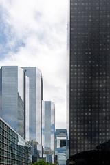 Glass Towers (Dan Guimberteau) Tags: paris france building architecture nikon ledefrance sigma 1020mm iledefrance modernarchitecture ladfense courbevoie hautsdeseine