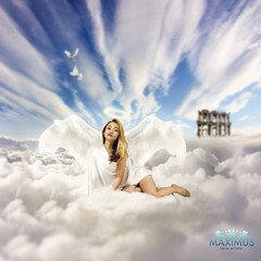 Heaven Made (Maximus Marketable) Tags: life blue original light wild portrait sky woman co