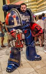 IMG_0400.jpg (Evil Benius) Tags: atlanta georgia costume unitedstates cosplay 40k armor convention dragoncon warhammer40000 spacemarine bolter adeptusastartes imperiumofman dragoncon2014