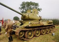 T-34 (MJ_100) Tags: infantry army russia military wwii ww2 soldiers reenactment troops reenactors sovietunion ussr redarmy secondworldwar 2014 victoryshow