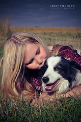 Carina #03 (jv-photography) Tags: dog green girl grass outdoors carina feld wiese hund gras grn