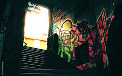 (*paz) Tags: colors graffiti valparaiso mural chile2012