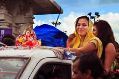 Ganesh idol immersion 2 (Shuuro) Tags: people india god ganesh hyderabad hindu visarjan ganeshnimajjanam
