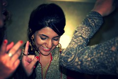 The Bride to Be (Ayeman Bhatti) Tags: wedding portrait bride dance dholki