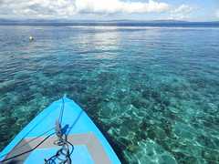 Travelling by Boat to Remote Beaches, North-east Sulawesi (travelourplanet.com) Tags: sea beach indonesia diving resort snorkeling sulawesi corals greatbeach bangkaisland pulaubangka coraleye