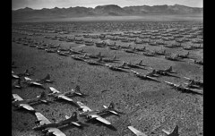 B-17s parked in the Desert Kingman, AZ