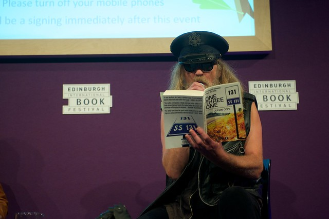 Julian Cope reading from his new novel