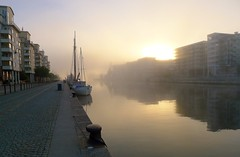 P1010500 (Lars Joelsson) Tags: autumn fog nebel stockholm september dimma 2014 lx5