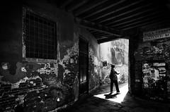 untitled (Silvan72) Tags: street light shadow bw architecture nikon venezia streetpeople