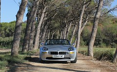 BMW Z8, Dusty track, Minervois, France Vineyard (Rev426) Tags: road old uk blue trees roof light shadow red orange usa sun white holiday france green london wet car sunshine sport yellow race canon silver happy boot james vineyard cool nikon europe track day bright wine image wind great dry sunny convertible grand super ferrari monaco m winery prix exotic dash bmw bond hood prize spotted z4 dust bonnet incredible concours aude lamborghini z1 rare z3 brilliant 007 maranello minervois z8 argens aventador v354 v354fmp