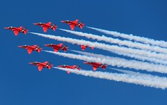 Red Arrows. (konstantynowicz) Tags: airshow southport redarrows southportairshow2014