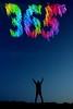 Day 365!! (quornflake) Tags: longexposure light lightpainting film night analog kodak doubleexposure surrey 365 analogue portra eos300v littlepond frensham 1635mmf28lii digitallightwand