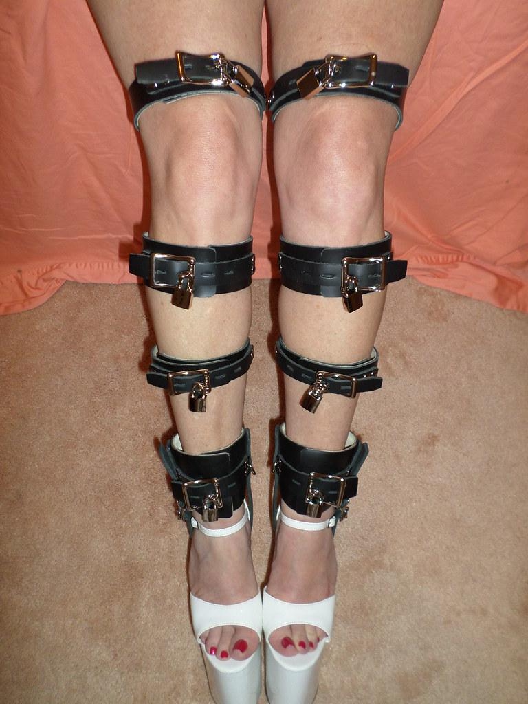 bondage leg straps