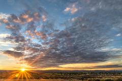 DSC_8846 (inlightful) Tags: sunset sun sol sunshine weather clouds sunrise solar cloudy sunrays sunbeams