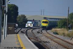 4002 approaches Portlaoise, 7/9/14 (hurricanemk1c) Tags: irish train rail railway trains railways caf irishrail intercity 2014 portlaoise 4002 mark4 iarnrd ireann iarnrdireann 0820corkheuston