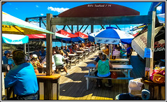 (68/365) Bill's Seafood Bar / Sunday at 2:00 p.m. / Fun Times! (Pentax K-x Connecticut Man) Tags: party summer sky usa sun building beach bar fun afternoon adobephotoshop connecticut shoreline drinking cellphone clarity samsung ct smartphone photograph adobe gathering nik android sunnyday madisonct westbrook wallingfordct clintonct adobelightroom outdoorbar singingbridge 365daysproject galaxys nikcolor nikplugin photoshopcs6 lightroom54 singingbridgd billsseafoodbar 68365daysproject