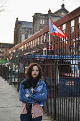 Yahira reppin her Nuyorican Roots (Ted Somerville) Tags: ny newyork nova metropolis bigapple bigcity select concretejungle iorque