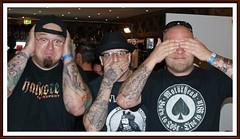 nichts hören, nichts sagen, nichts sehen (tor-falke) Tags: art tattoo tattooconvention artist sony tatouage tattooed threewisemonkeys tätowiert sonyalpha tätowierer tattoomodel tätowierte alpha200 tattoomotiv torfalke flickrtorfalke