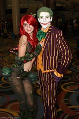 Poison Ivy & Joker (thatguygil) Tags: utah ivy saltlakecity saltlake joker slc comiccon poisonivy thejoker saltlakecomiccon slcomiccon radio616