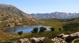 Le lac de Nino.