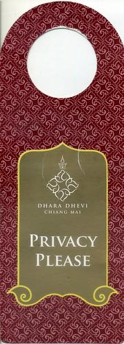 DHARA DHEVI CHIANG MAI, Thailand, 3926, (AA1)