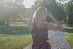 DSC_0131 (Marceline H) Tags: blackandwhite sun model nikon sister flare practice sunflare lightroom nikond3200 d3200