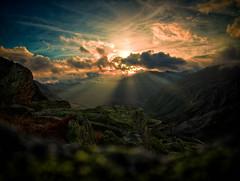 Julier (True.Xplorer) Tags: sunset hiking colorfull olympus epic farbig f355 colourfull m43 em10 mft 1442mm microfourthirds olympusm1442mmf3556iir