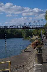 ballade sur les bords de Sane vers Montmerle sur Sane (zabou256 aussi sur Ipernity) Tags: blue france eau wasser pentax bleu blau watter sane rhnealpes fleuves k30 pentaxk30