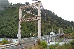 Cook River Bridge (bridgink) Tags: bridge newzealand suspension