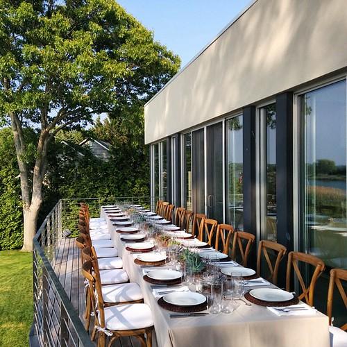 #Hamptons #DinnerWithFriends