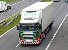 L7516 - PK60 HSO (Cammies Transport Photography) Tags: truck elizabeth jean lorry m8 eddie flyover scania esl g400 harthill stobart hso eddiestobart pk60 l7516 pk60hso