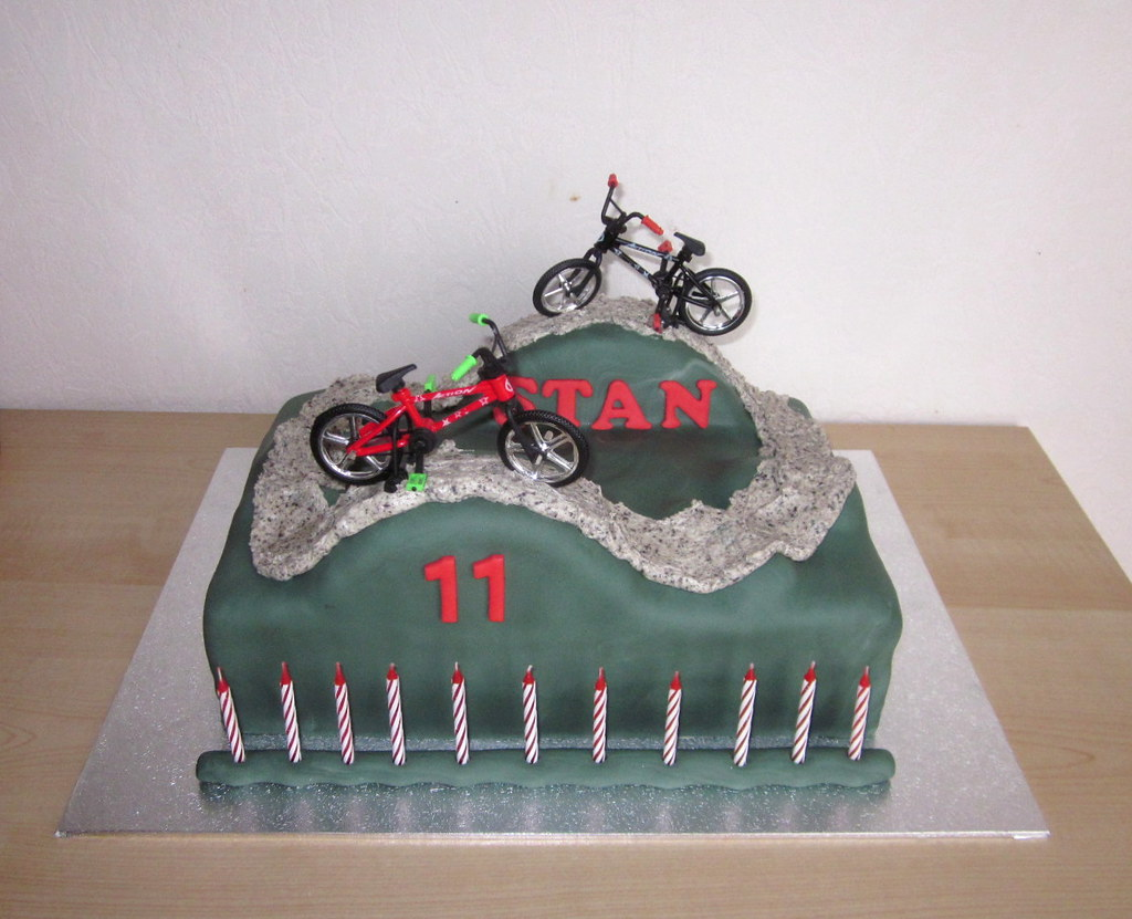 Stan 11 Bmx Semivi Tags Birthday Cake Boy Parcour