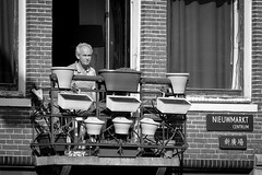 Springtime in Amsterdam (nagajohn) Tags: streetphotography straatfotografie fotografie photography people streets candid streetlife moment straatfotograaf opstraat onthestreet streetscene straten beautifulpeople monochrome blackandwhite outdoor nagajohn johnkwee netherlands mooiemensen nederland holland amsterdam amsterdammers mokum fz1000