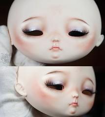 Heartstrung Bulbi (theugliestwife) Tags: bjd balljointeddoll ball jointed doll artdoll art heartstrung bulbi custom ooak handmade dollmakeup faceup theugliestwife