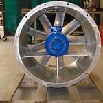 RVS axiaal ventilator