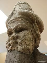 Statue Head of Lamassu (Merja Attia) Tags: statuehead lamassu neoassyrianperiod gateguard assur qalatsharqat marble mesopotamia assyrian iraq museum ancientorientmuseum istanbul turkey istanbularkeolojimüzeleri ancienthistory