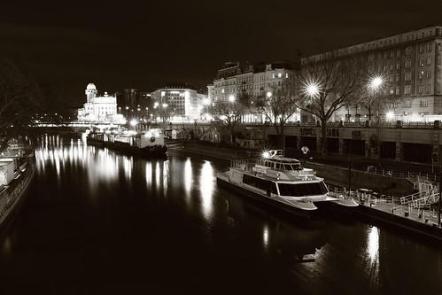Danube Canal, Vienna